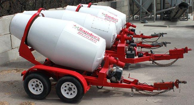 貨卡專用水泥預拌車